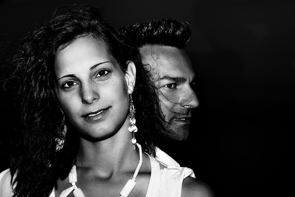 Debbi und Roberto in Varadero