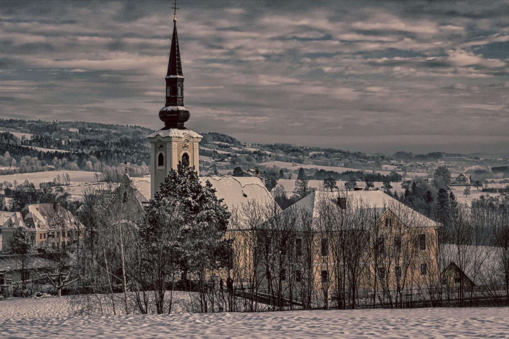 Dechantskirchen im Winter