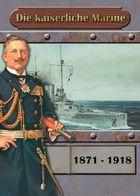 """Deckblatt Kalender """"Kaiserliche Marine"""""""