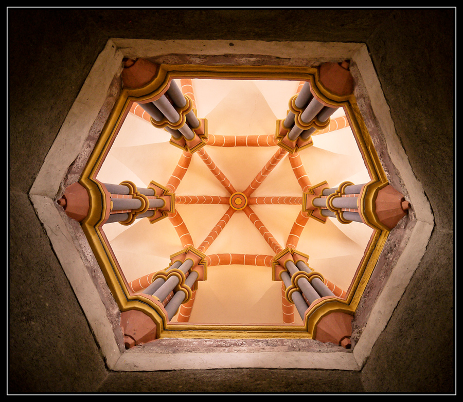 Decke der Kapelle
