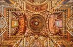 Decke der Kirche Santa Maria Della Vittoria in Rom.