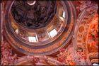 Decke der Klosterkirche Melk in Österreich