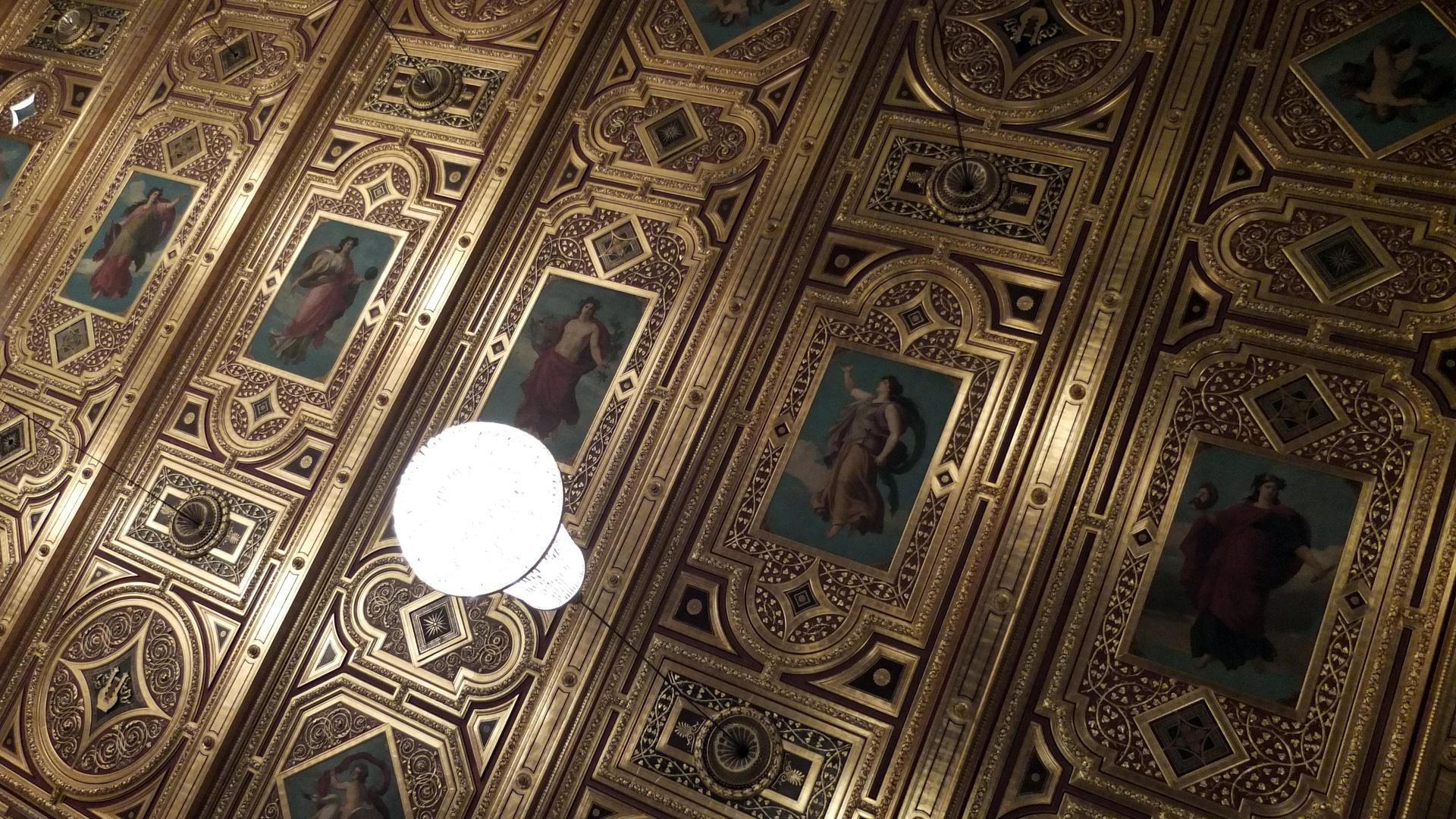 Decke des Goldenen Saales im Wiener Musikverein