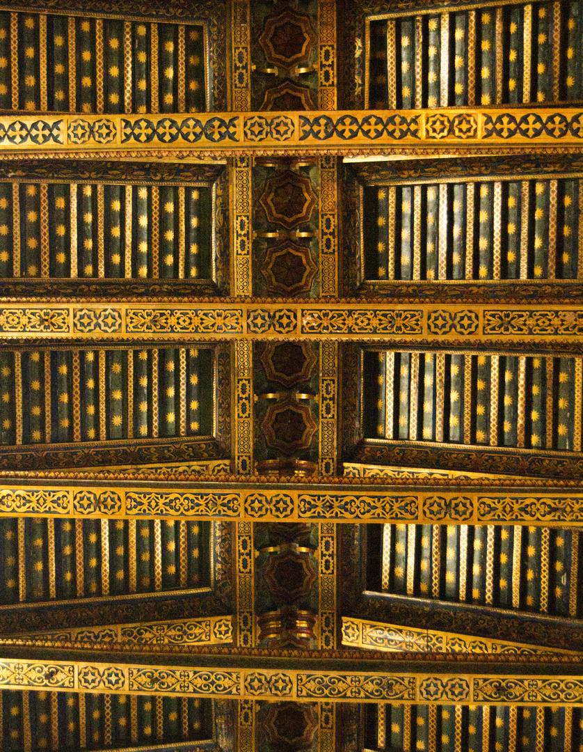 Decke des Kirchenschiff's des Duomo di Monreale