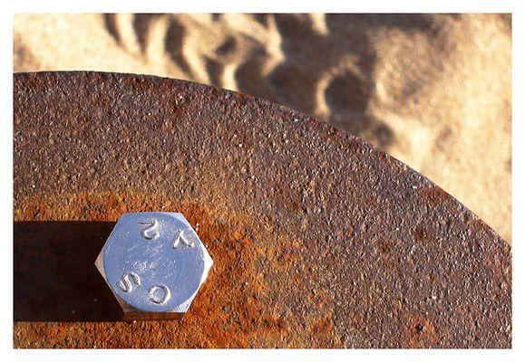 Deckelverschraubung an der Strandperle