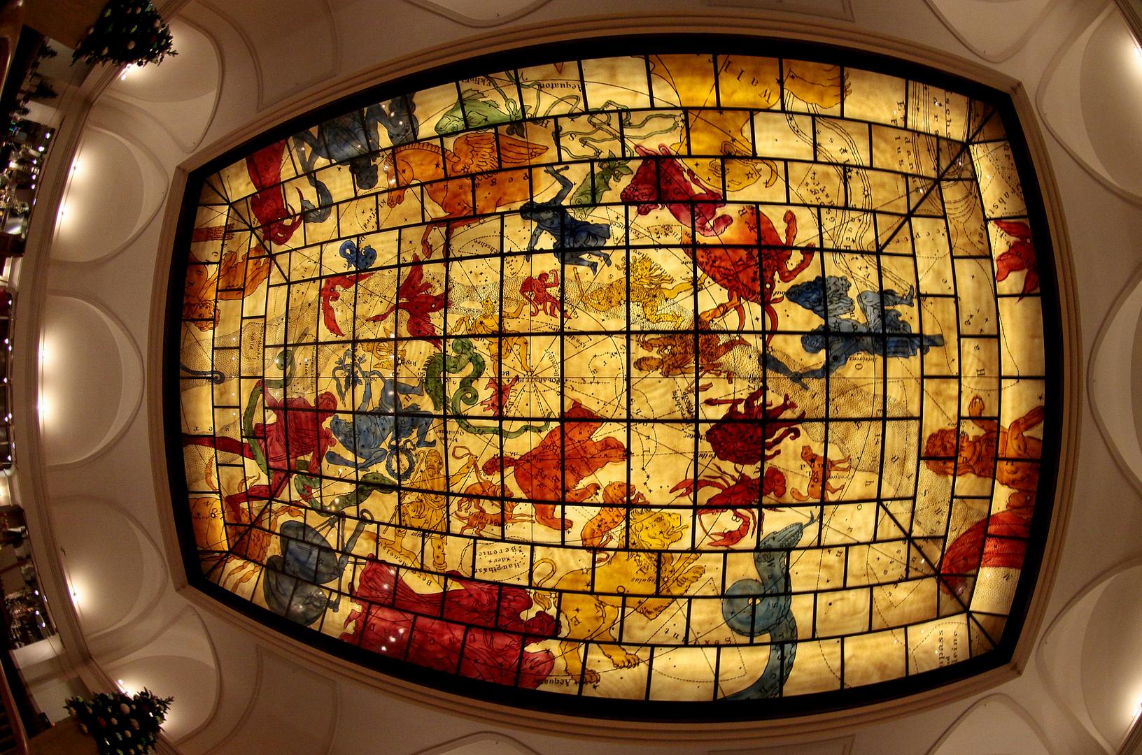 Decken-Bild Zodiakus