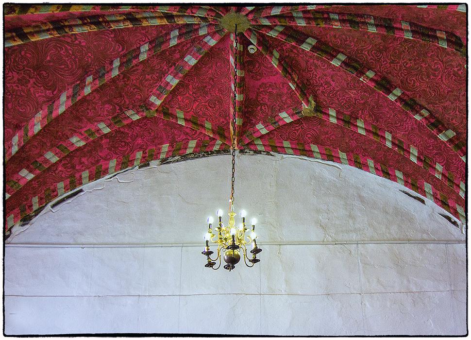 Deckenbemalung in der Bischofsburg von Lidzbark Warminski