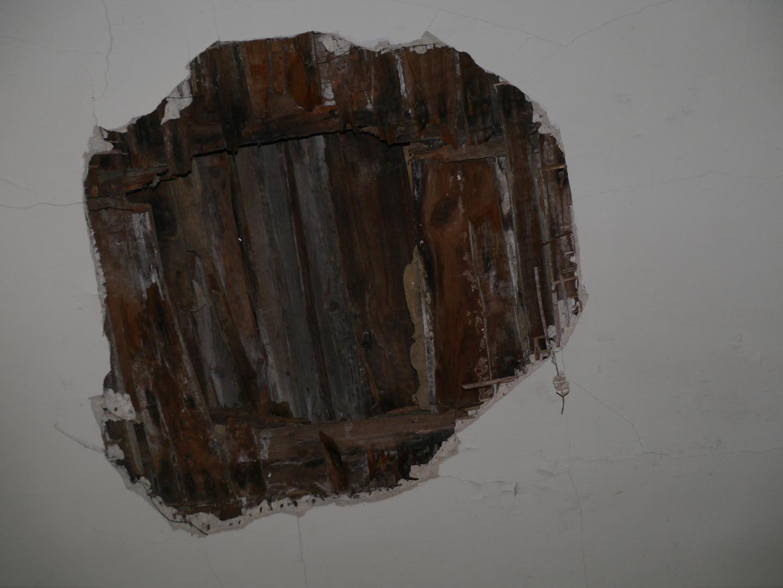 Deckendurchbruch Tützpatz