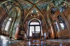 Deckengemälde im Schloss Drachenburg