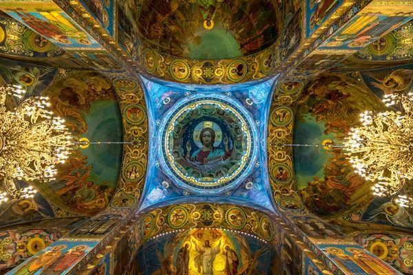 Deckengewölbe Auferstehungskirche - Sankt Petersburg