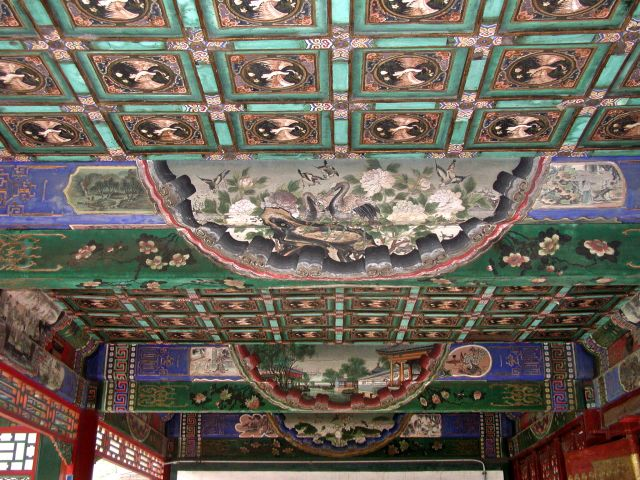 """Deckenmalereien im """"Langen Korridor"""""""