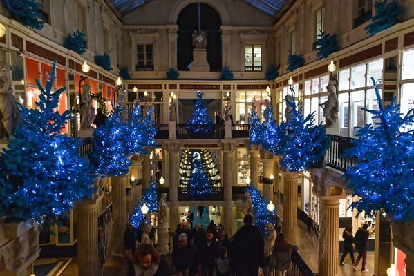 Décoration Noël passage Pommeraye