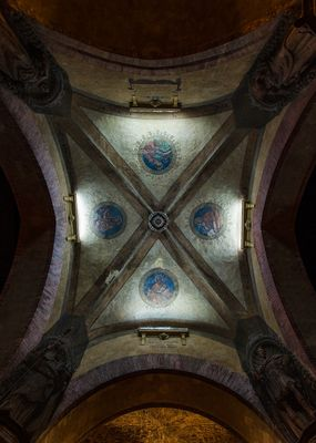 Decori volte del Palazzo di Re Enzo - Bologna