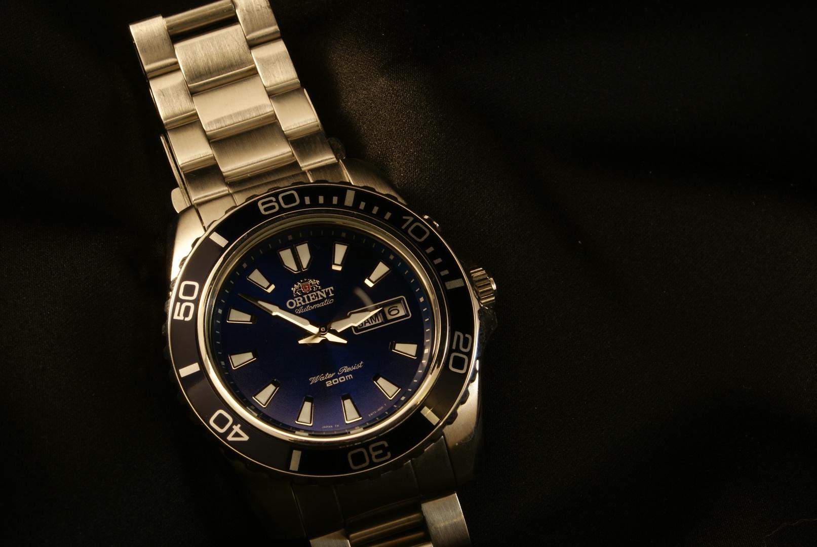 ...deep blue...