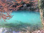 Deep clear blue