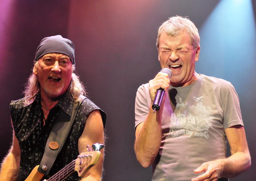 Deep Purple gestern Abend bei Rock am See