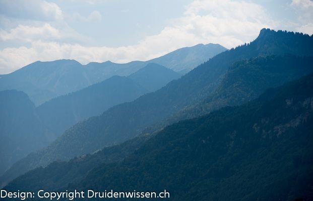 Deep Swiss mountains