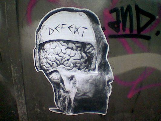 """Defekt """"Brain"""""""