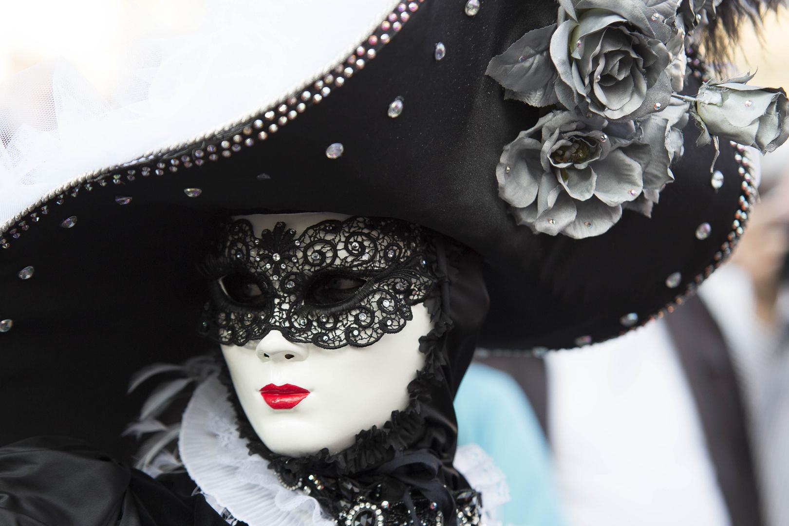Defilee der Masken IV (Madame fatale)