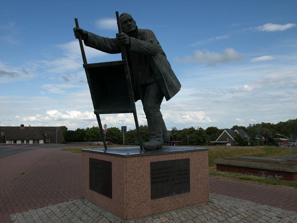 Deichbau-Denkmal Dorum