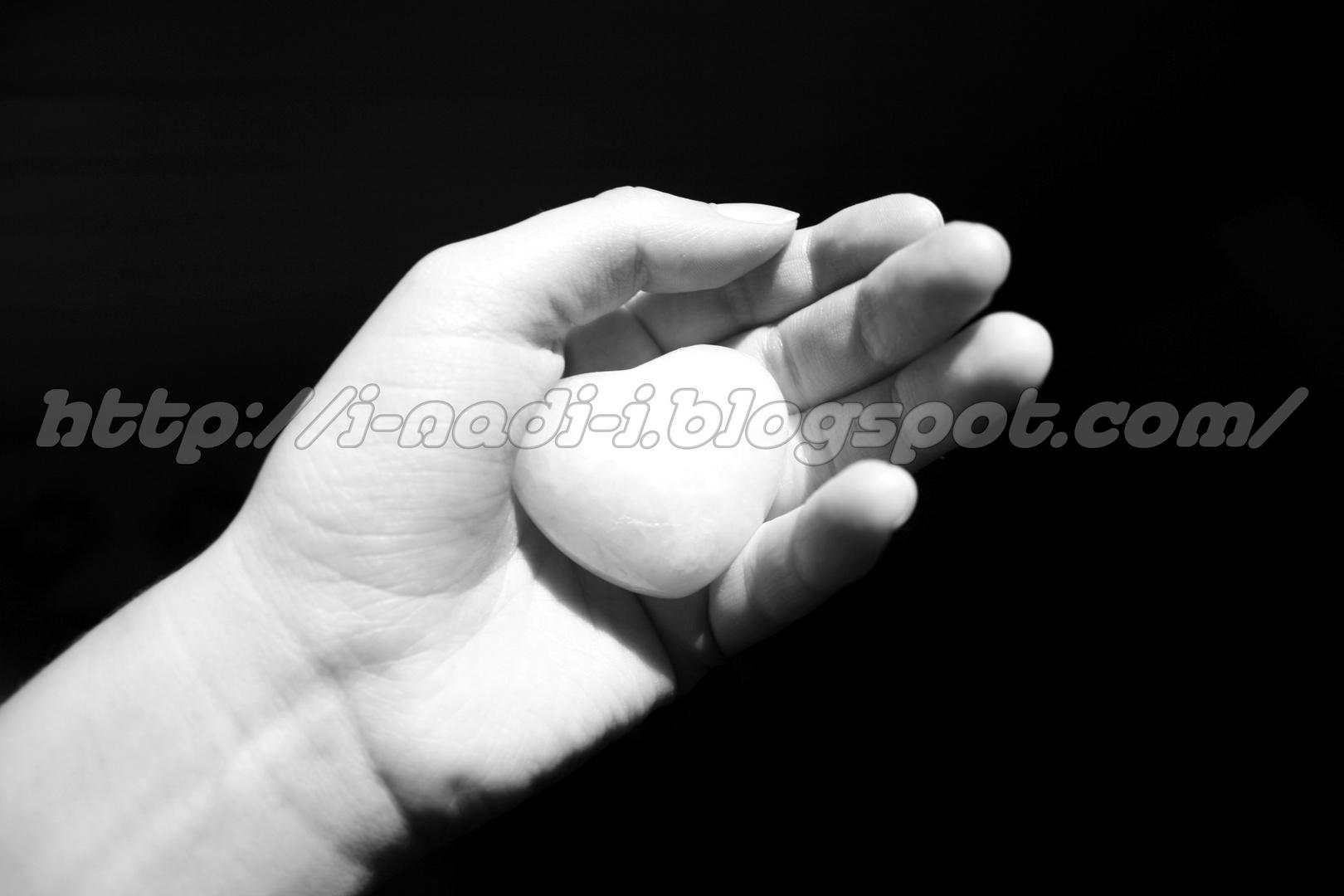Dein Herz, liegt in meinen Händen..