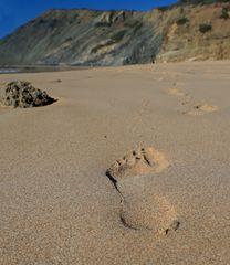 Deine Spuren im Sand  ;-)