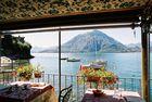 Déjeuner avec vue sur le lago di Como