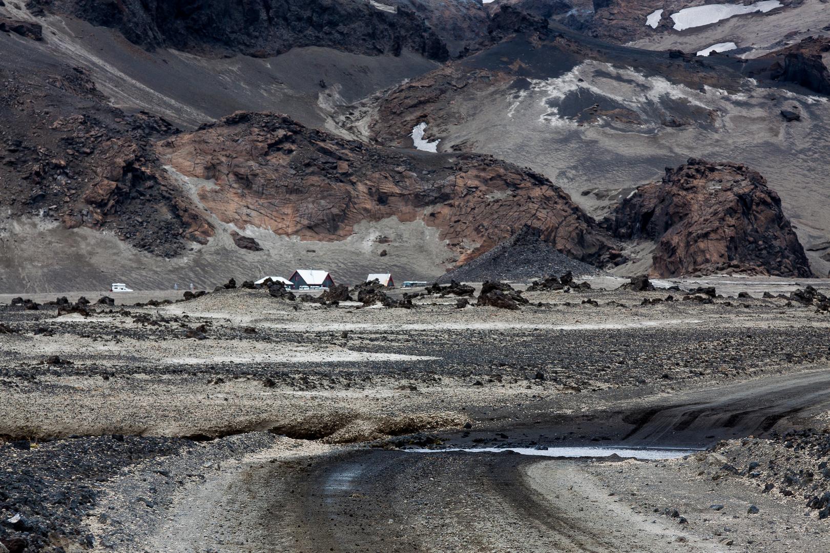 Deki Hütten Askja Vulkan