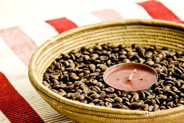 Dekoschale in Café