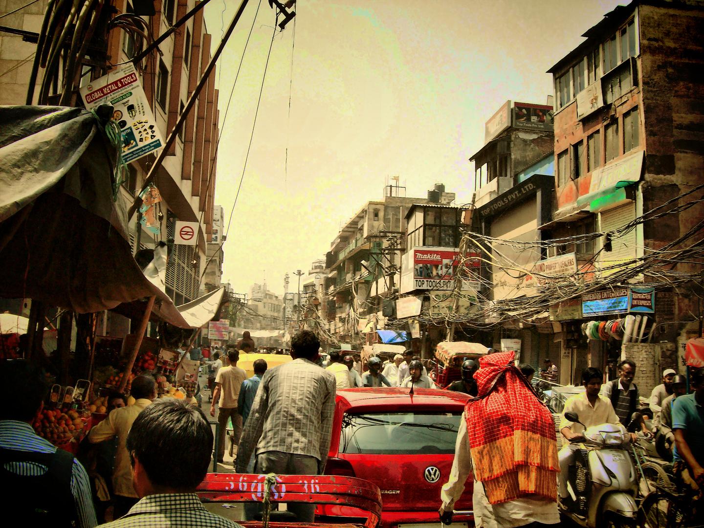 Delhi, difícilmente te sentirás solo