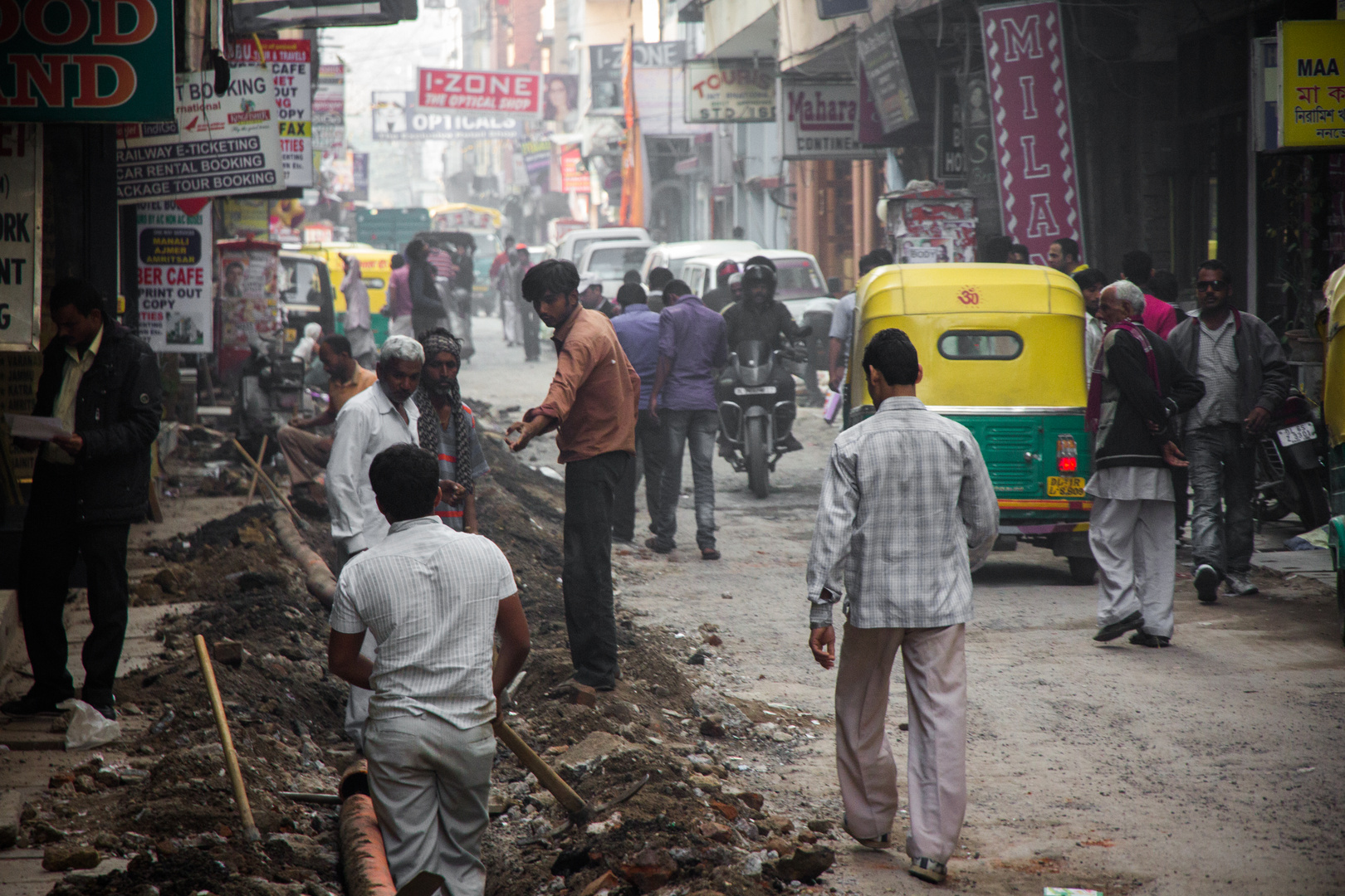Delhi Straßenbau