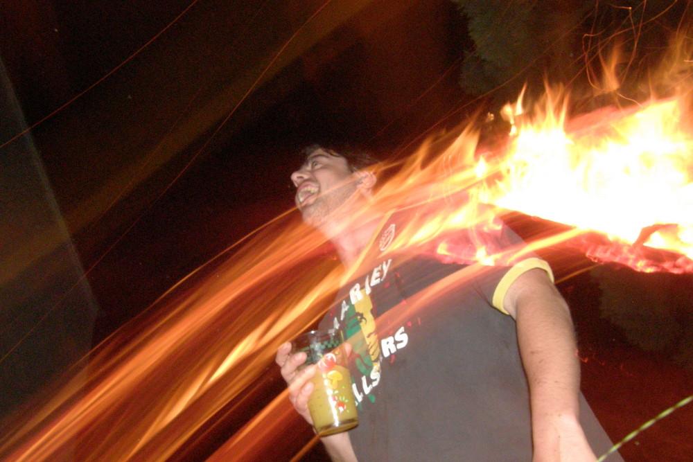 délirium auprés du feu....