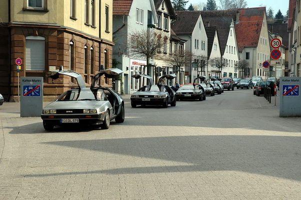 DeLorean Treffen