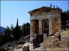 Delphi - Das Schatzhaus der Athener