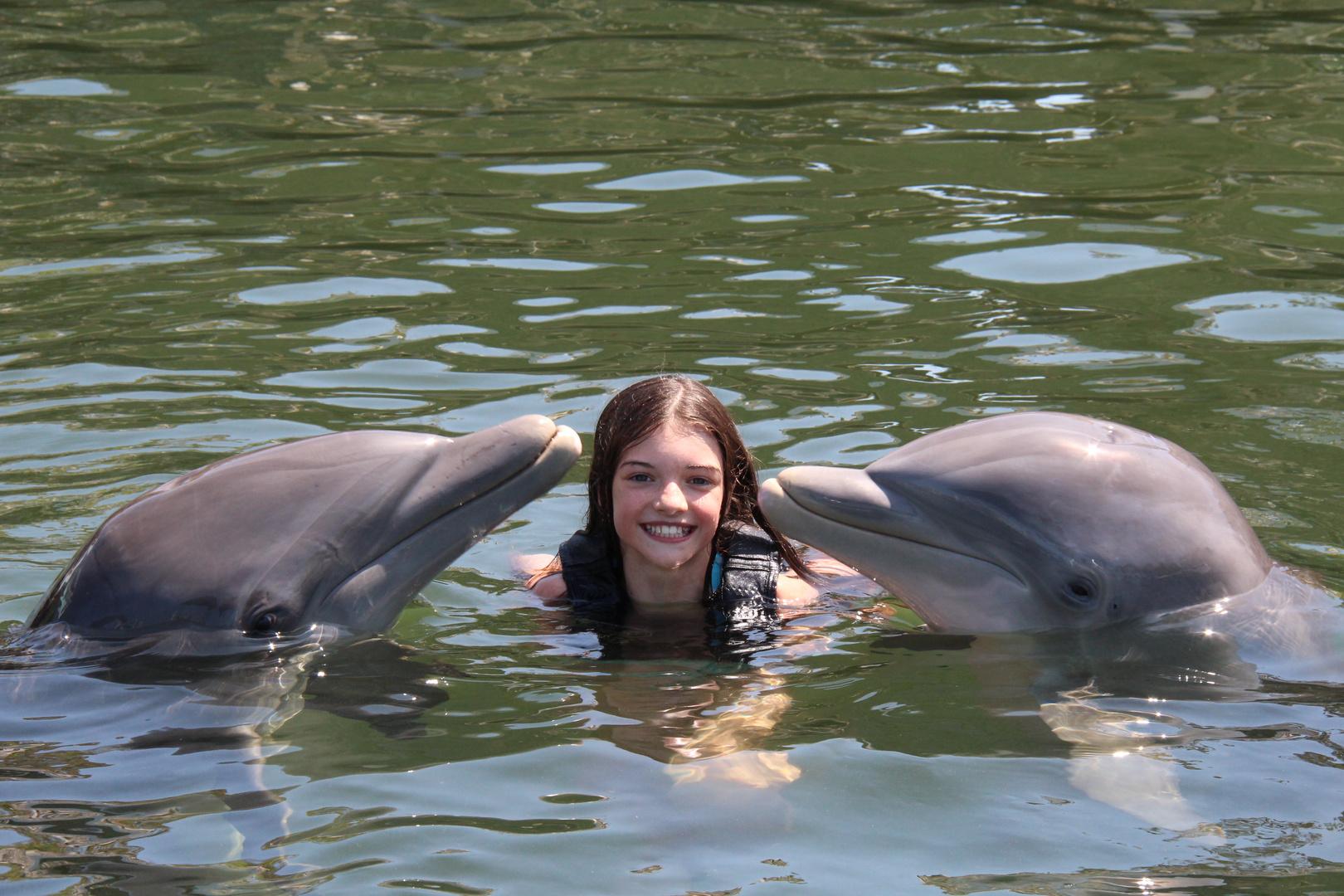 Delphine und ich