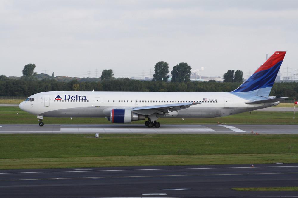 Delta Air Lines Boeing 767-300 in Düsseldorf