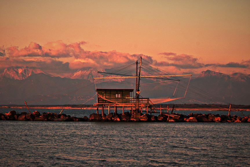 Delta dell'Arno Capanna dei Pescatori 1