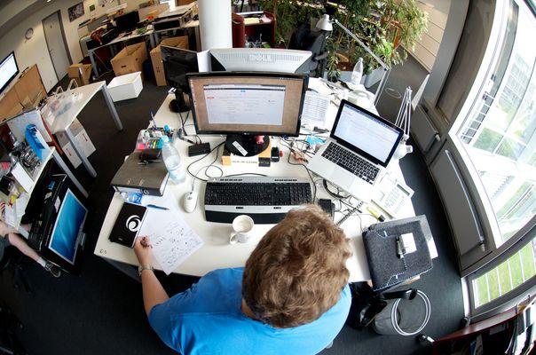 Dem Herrn Koßin sein Schreibtisch