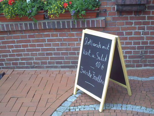 """"""" Dem Koch ein`s ausgewischt ;-) !"""""""