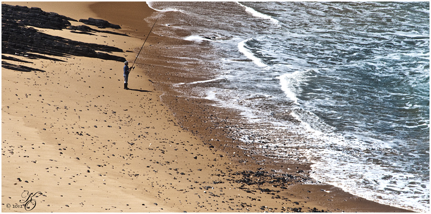Dem Meer gegenüber