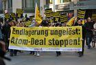 Demo gegen Castor Transport in Berlin Mitte