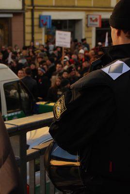 Demo gegen Polizeiwillkür