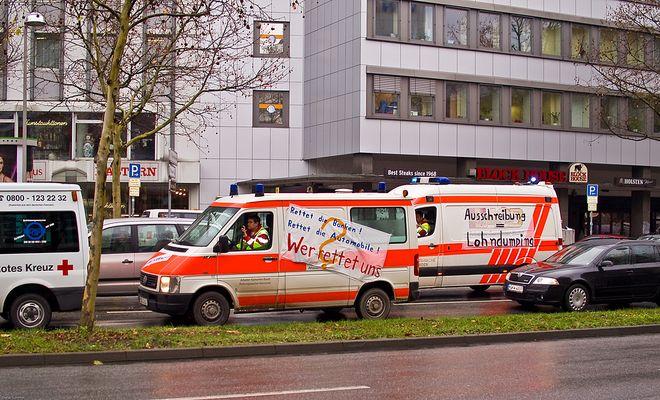 Demo in Hannover Bild 1