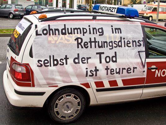 Demo in Hannover Bild 2