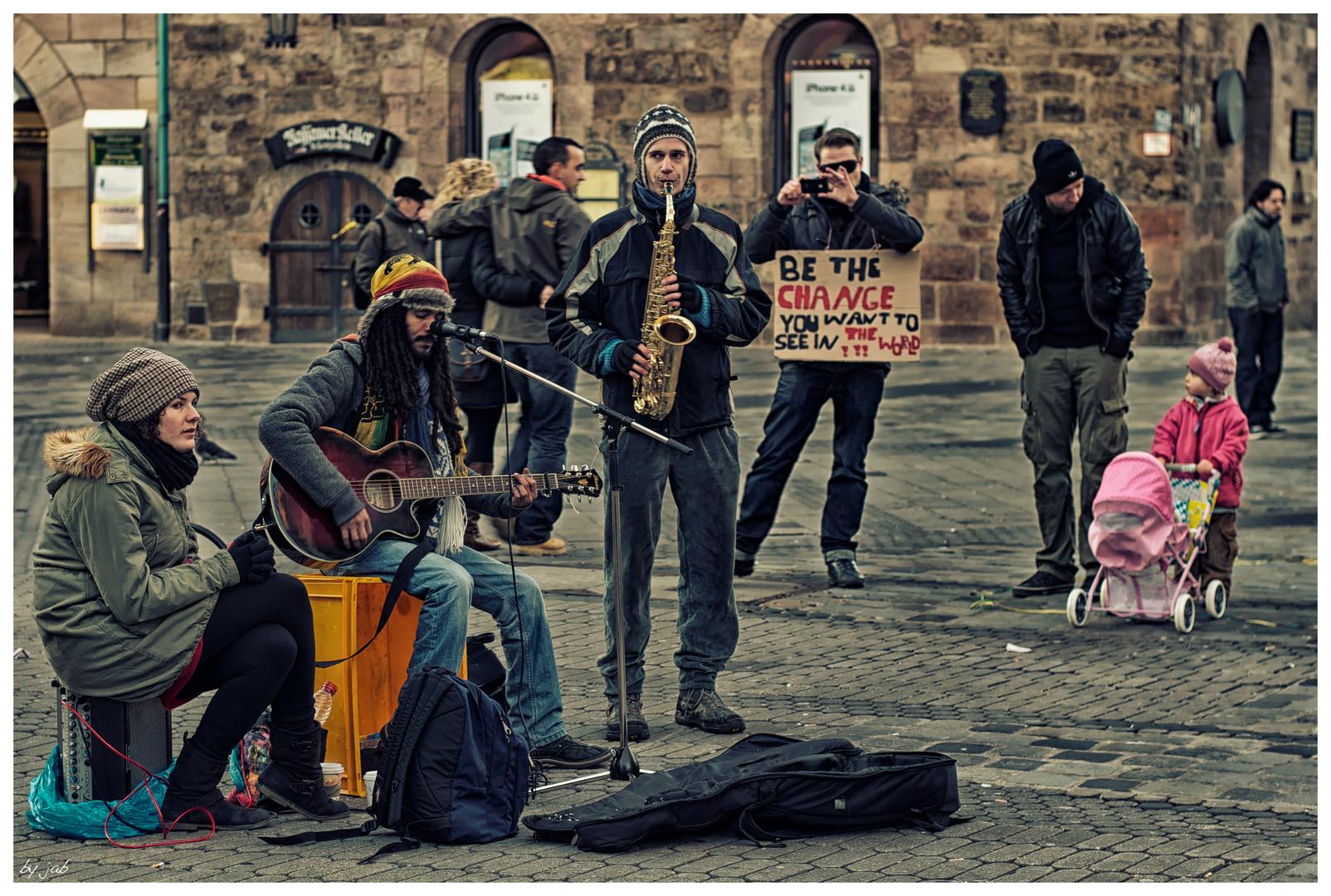 Demo in Nürnberg