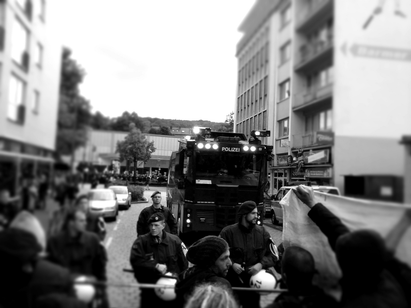 Demo in Wuppertal