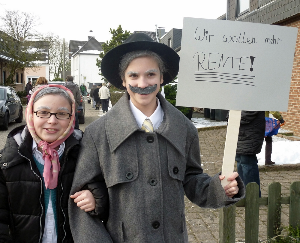 Demo oder Karneval