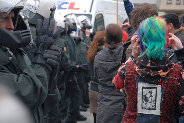 Demonstration gegen Rechts (2)