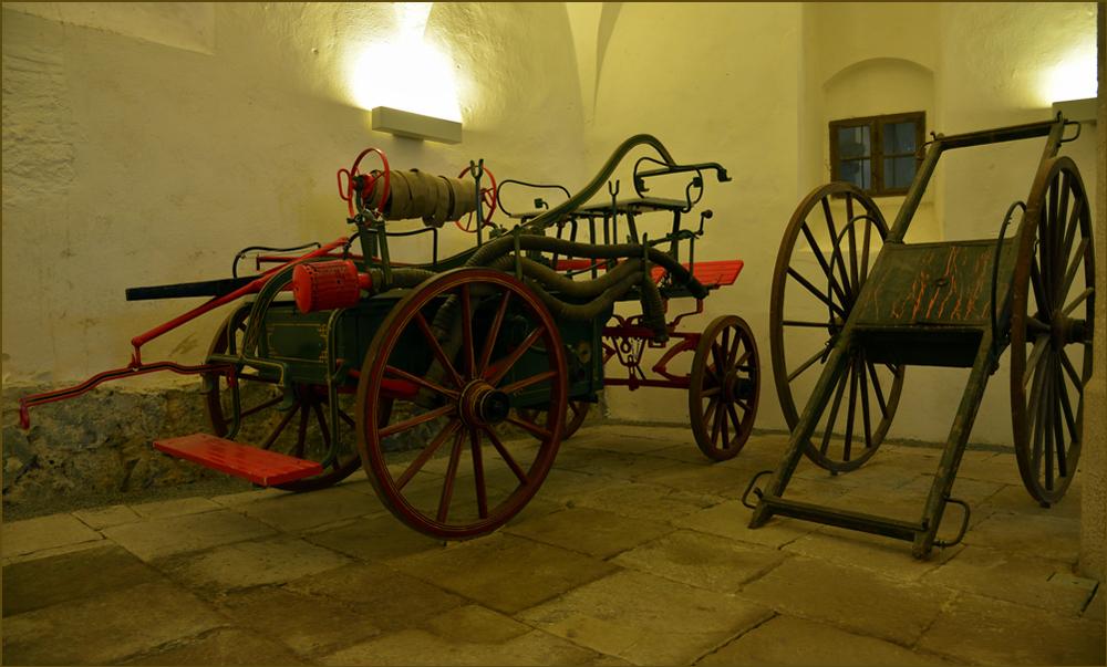 Den alten Feuerwehrwagen...,