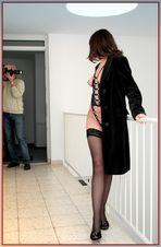 Den Fotografen und das Modell beobachtet...